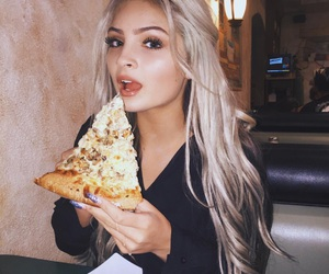 pizza and hair image
