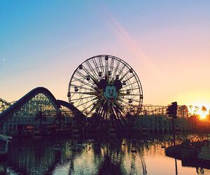 games, landscape, and mickey image