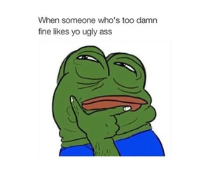 funny, memes, and pepe image