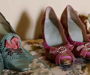 marie antoinette and shoes image