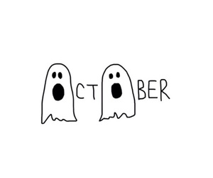 october, Halloween, and ghost image