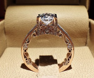 ring, luxury, and diamond image
