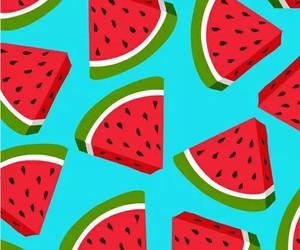 fruta, wallpaper, and sandia image