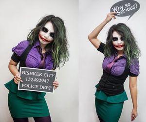 Halloween, joker, and background image