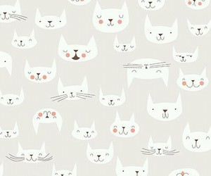 cat, wallpaper, and love image