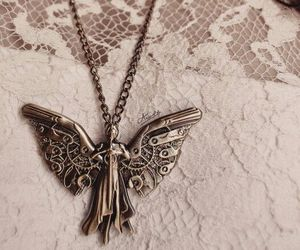tessa gray, clockwork angel, and necklace image