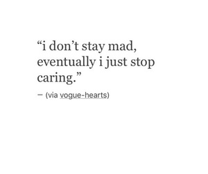 quotes, caring, and mad image