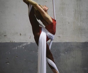 acrobat, aerial, and soccer image