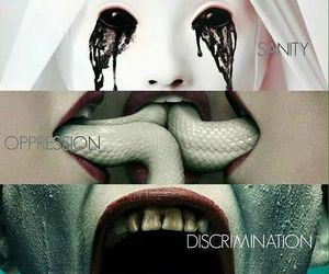 asylum, american horror story, and coven image