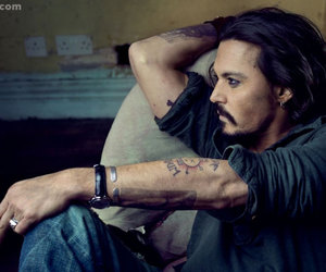ator, depp, and Hot image