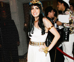 Anne Hathaway, cleopatra, and Halloween image