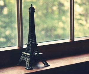 paris, window, and france image