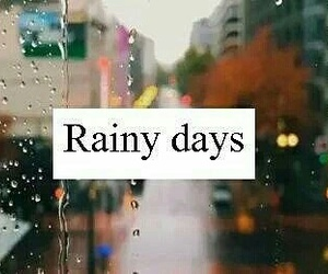 rain and rainy days image