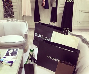 chanel, designer, and shopping image