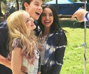 shawn mendes, sofía carson, and disney descendants image