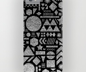 black and white, samsung galaxy, and geometric collage image