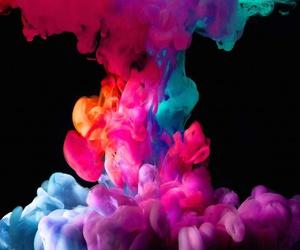 smoke, colorful, and colors image