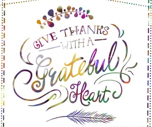 grateful, quote, and thanks image