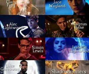 shadowhunters, jace, and LUke image