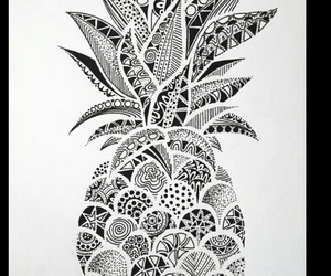 pineapple, wallpaper, and art image