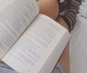 bed, book, and history image