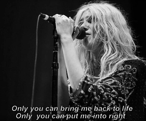 music, sad, and the pretty reckless image