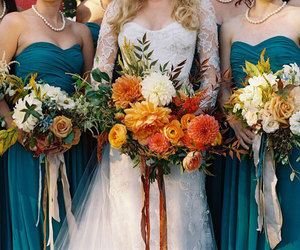autumn, bouquet, and fall image