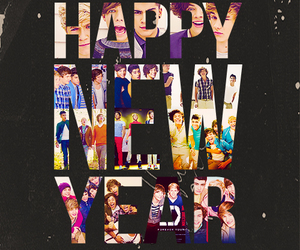 one direction, happy new year, and new year image