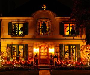 Halloween and house image
