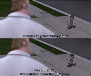 quotes, amazing, and The Incredibles image