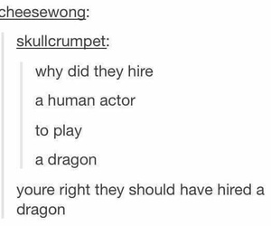 actor, dragon, and funny image