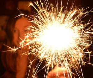 2012, firework, and Spark image