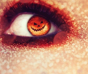 Halloween, eyes, and love image