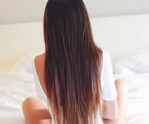 hair and brown hair image