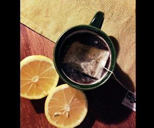 happy, vintage, and lemon image