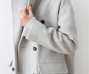 beautiful, clothes, and coat image