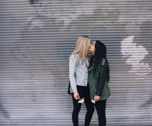 lesbian, love, and gay image