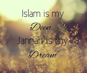 islam, deen, and Dream image