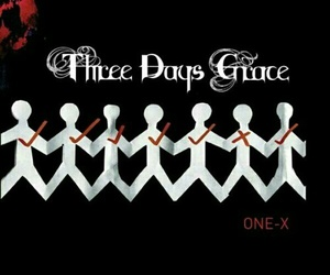 three days grace, music, and one-x image