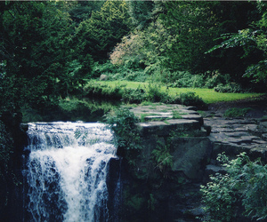 nature, waterfall, and photography image