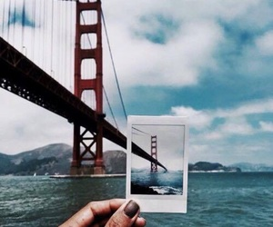travel, bridge, and photography image