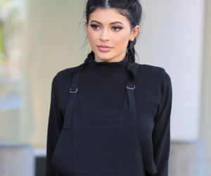 kylie jenner, black, and jenner image