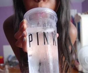 pink, drink, and tumblr image