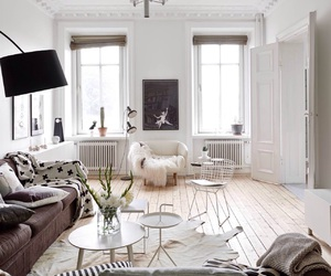 interior, design, and living room image