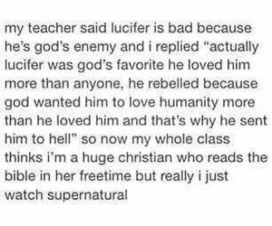 fandom, lucifer, and supernatural image