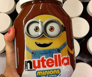 minions and nutella image