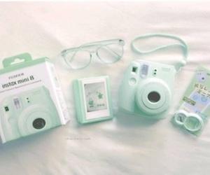 Pink Camera And Polaroid Image