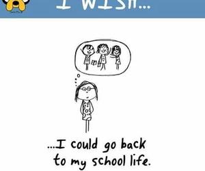 cartoon, wish, and life image