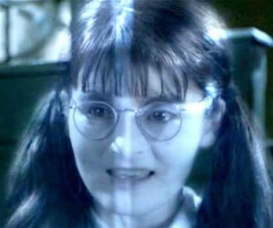 ghost, harry potter, and moaning myrtle image
