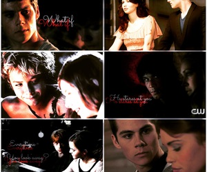 teen wolf, the 100, and stydia image